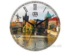 Часы настенные ЮТА Vintage 330Х330Х27мм 023-VT