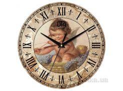 Часы настенные ЮТА Vintage 330Х330Х27мм 003-VP