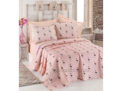 Покрывало пике Eponj Flamingo pudra 200х235 см