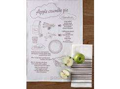 Набор кухонных полотенец Pavia Apple crumlbe pie 40х60 см - 2 шт