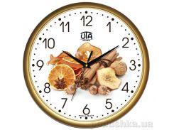 Часы настенные ЮТА Классика 300Х300Х45мм 01-G-67