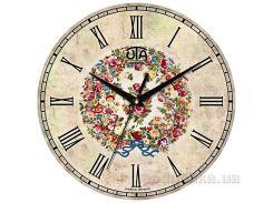 Часы настенные ЮТА Vintage 330Х330Х27мм 009-VP