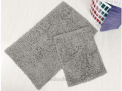 Набор ковриков в ванную Irya Drop gri