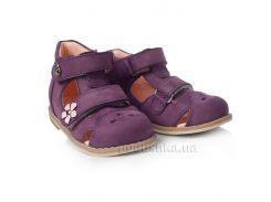Детские босоножки Theoleo 142 фиолетовые 21