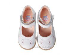Детские туфли Theoleo 138 белые 25