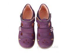 Детские босоножки Theoleo 143 фиолетовые 27