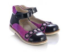 Детские туфли Theoleo 464 черные 30