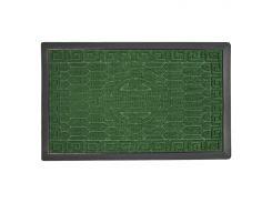 Коврик придверный МД с узором зеленый 45х75 см TZR09880/Grn