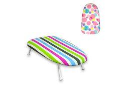 Доска гладильная настольная MД Capri 60х37х13см HW09500 дизайн разноцветные шары