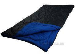 Спальный мешок Руно демисезонный синий размер 85х200х2 см, плотность 300 г/кв.м