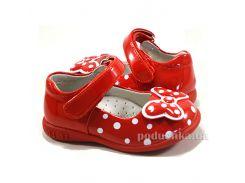 Туфли детские Apawwa M333 red 20-25 21