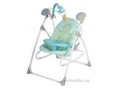 Кресло-качели Bambi 2 в 1 SW102-1 Blue