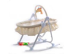 Шезлонг-люлька 3 в 1 Tilly BT-BB-0003 Beige BabyOno
