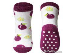 Носки противоскользящие BabyOno 591/02 Фиолетовый