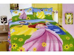 Детское постельное белье Alltex Принцессы 212034 Подростковый комплект