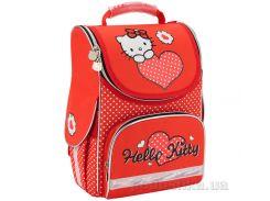 Рюкзак школьный каркасный Kite 501 HK-1 красный