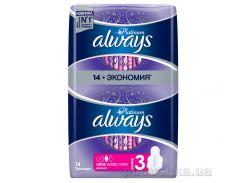 Гигиенические прокладки Always Ultra Platinum Collection Super Plus 14 шт