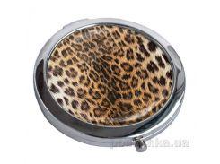 Зеркальце карманное Devays Maker Леопард 22-08-003