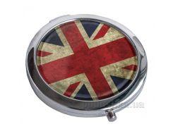 Зеркальце карманное Devays Maker Great Britain flag 22-08-060