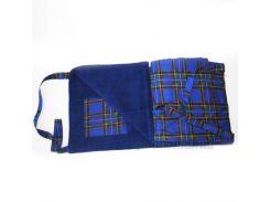Пляжная сумка-коврик Nostra синяя