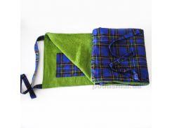 Пляжная сумка-коврик Nostra оливка