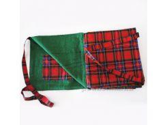 Пляжная сумка-коврик Nostra зеленая
