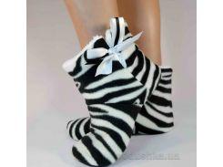 Домашние тапочки Slivki Угги Zebra 34-35