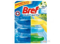 Подвесной туалетный блок Bref Duo-Aktiv Свежий микс 3 запаски 3х60 мл 9000100991421
