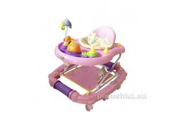 Ходунки BabyHit Emotion Zoo Pink