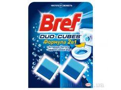Чистящие кубики для унитаза Bref Дуо-Куб 100 г 9000100897242