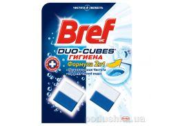 Чистящие кубики для унитаза Bref Дуо-Куб Гигиена 100 г 9000100897341