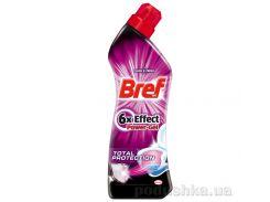 Гель для чистки и дезинфекции унитазов Bref Power 6-Effect Total Protection 750 мл 9000100541589