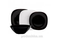 Сервиз столовый Carine Black/White 19пр. Luminarc N1491