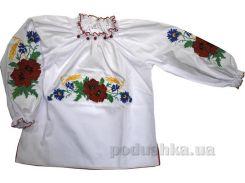 Вышиванка Маков цвет для девочки Деньчик 1031 140