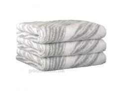 Махровое полотенце Cawoe Noblesse Natur Allover 1070-76 platin 50х100 см