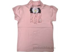 Блуза для девочки Американка роза-горошек Zebra kids ГБ111108-122 146