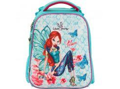 Рюкзак школьный каркасный (ранец) 531 Winx fairy couture Kite W17-531M