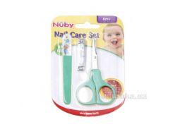 Маникюрный набор Nuby 4774 цвет - голубой