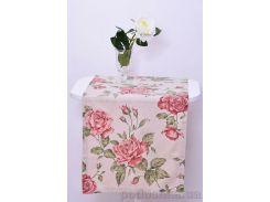 Дорожка Прованс Large pink rose дорожка 42х120 см