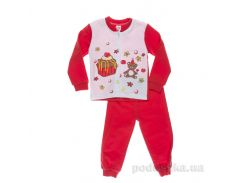 Пижама для девочки Niso Baby Торт красная 92