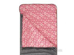 Спальный мешок bq-style серый из вельвета с перламутровым кантом