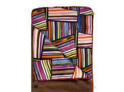 Спальный мешок bq-style Шарпей коричневый с оранжевым кантом