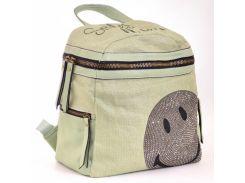 Сумка-рюкзак Yes Weekend 554415 зеленая