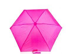 Зонт женский компактный Zest горох 25518 малиновый