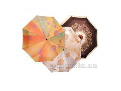 Зонт автомат женский UpDown Happy Rain 76855M00 цвет коричневый