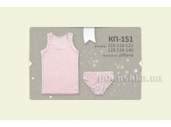 Комплект для девочек Бемби КП151 134 цвет розовый