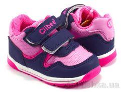Кроссовки детские Clibee F655mix blue-pink 20