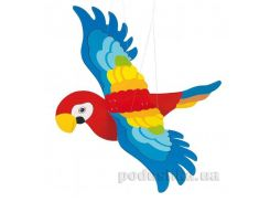 Мобайл деревянный Попугай goki GK454