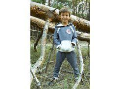 Спортивный костюм для мальчика Модный Карапуз 03-00474 Темно-синий 122