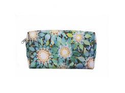 Косметичка Бирюзовые цветы из кожзама Devays Maker 11-0213-281